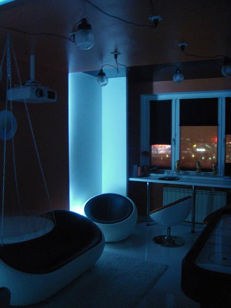 игровая: Медиа комнаты в . Автор – artemuma - архитектурное бюро