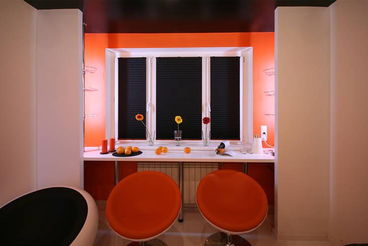 барная зона: Окна и двери в . Автор – artemuma - архитектурное бюро