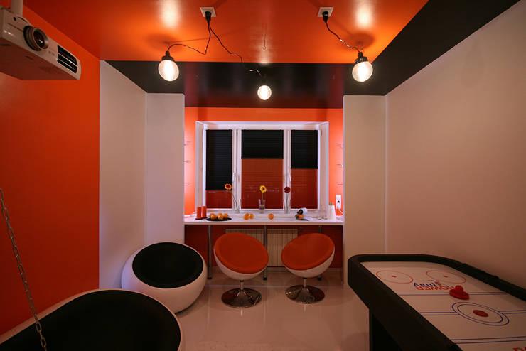 игровая: Гостиная в . Автор – artemuma - архитектурное бюро
