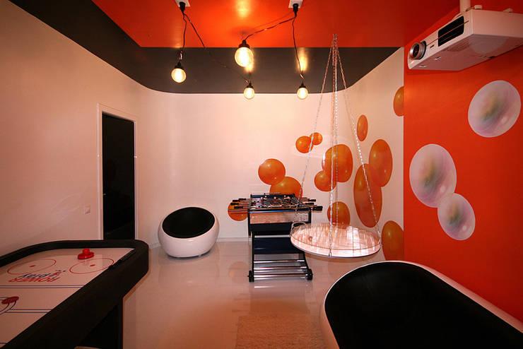 игровая: Комната для спорта в . Автор – artemuma - архитектурное бюро