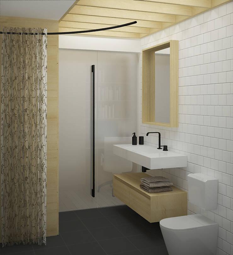 санузел: Ванные комнаты в . Автор – artemuma - архитектурное бюро
