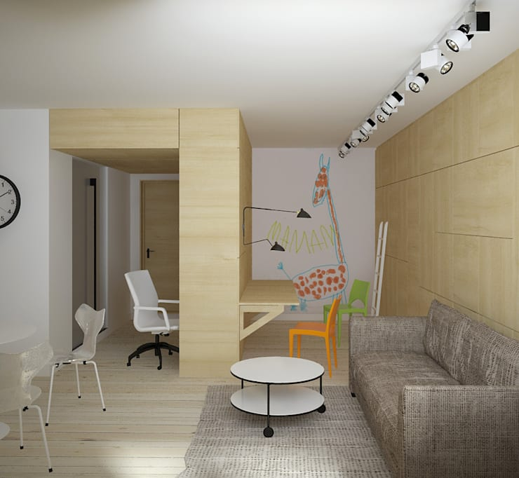 зона детской: Детские комнаты в . Автор – artemuma - архитектурное бюро