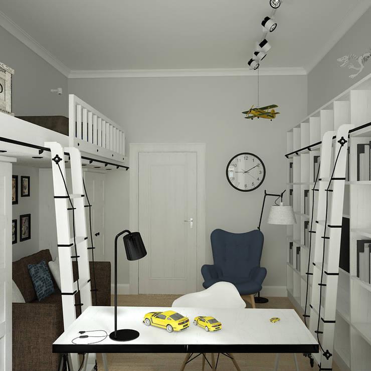 рабочая зона: Рабочие кабинеты в . Автор – artemuma - архитектурное бюро