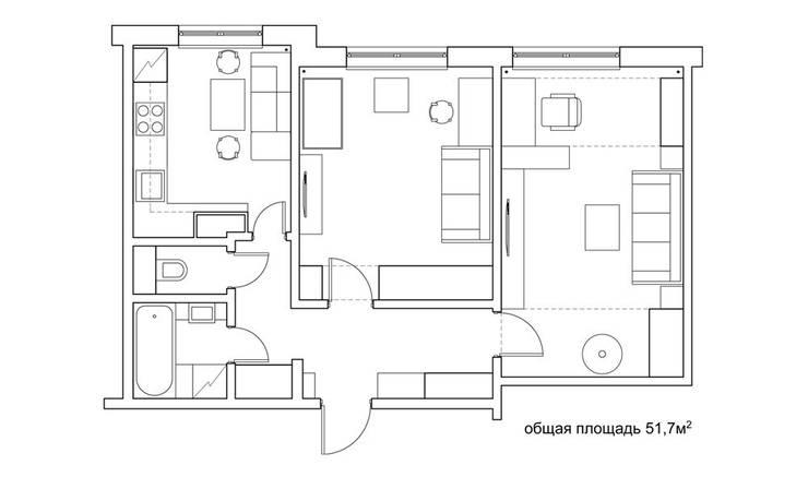 планировка:  в . Автор – artemuma - архитектурное бюро
