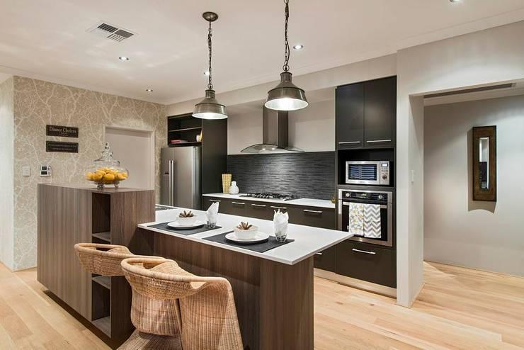 مطبخ تنفيذ Moda Interiors