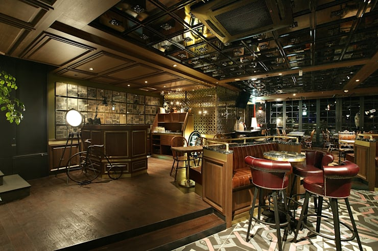 DISTRICT_Prost(Pub&Grill) by CHIHO&PARTNERS Сучасний