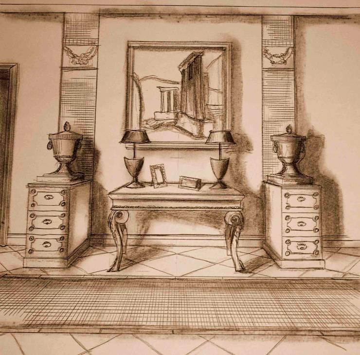 Disimpegno di Interior Design Stefano Bergami