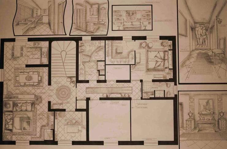 Villa in capagna di Interior Design Stefano Bergami