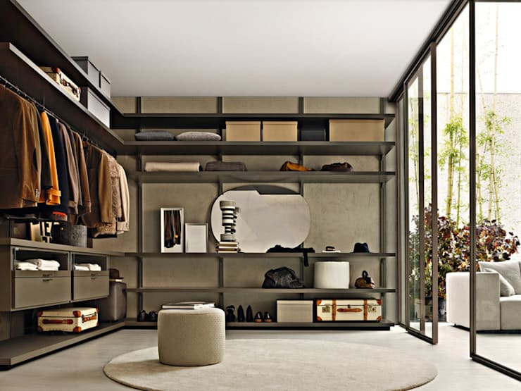 Projekty,  Garderoba zaprojektowane przez Campbell Watson