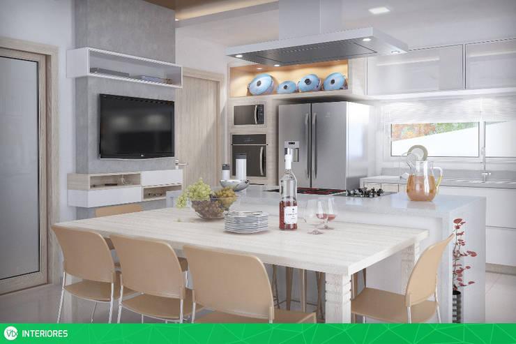 Cozinha: Cozinhas  por studio vtx