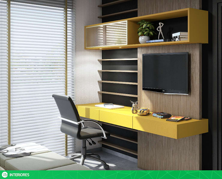 Dormitorios de estilo  por studio vtx