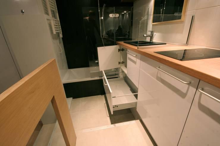 Baños de estilo  de atelier instant t
