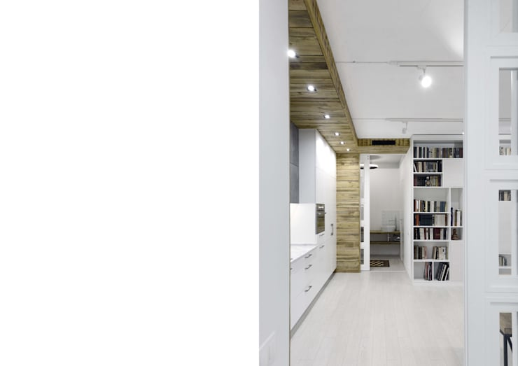 КВАРТИРА НА ОКТЯБРЬСКОМ ПОЛЕ:  в . Автор – ARCHITECTURAL BUREAU PROJECT ELEVEN