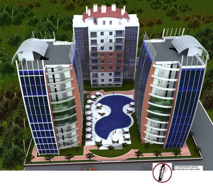 Fe mimarlık mühendislik ltd.şti. – Strana sveta1 rezidans görrünüm 1:  tarz