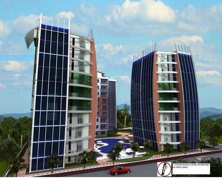 Fe mimarlık mühendislik ltd.şti. – Strana sveta 1 residans görünüm 2:  tarz