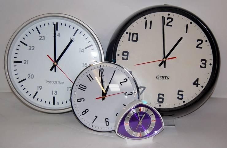 Selection of VIntage Clocks:  Living room by Retro Bazaar Ltd