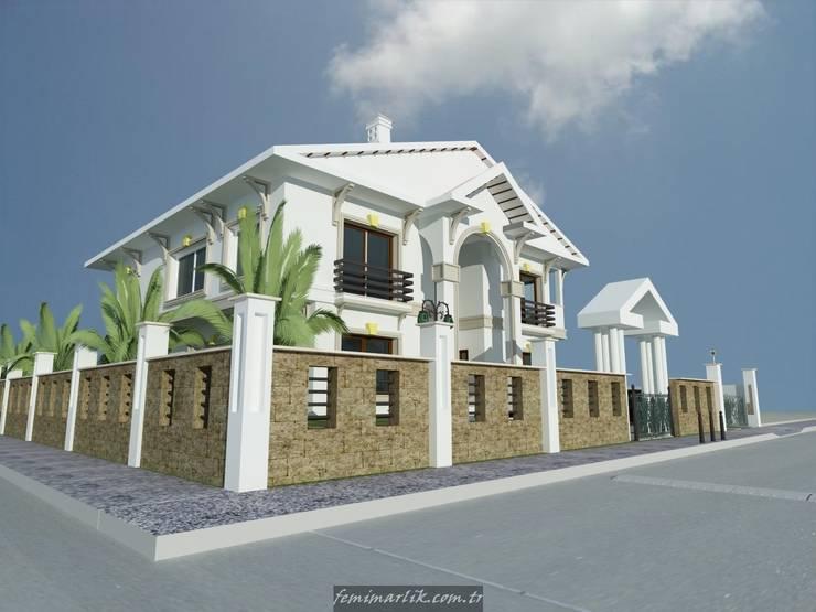 Fe mimarlık mühendislik ltd.şti. – Mungan villası görünüş 2:  tarz