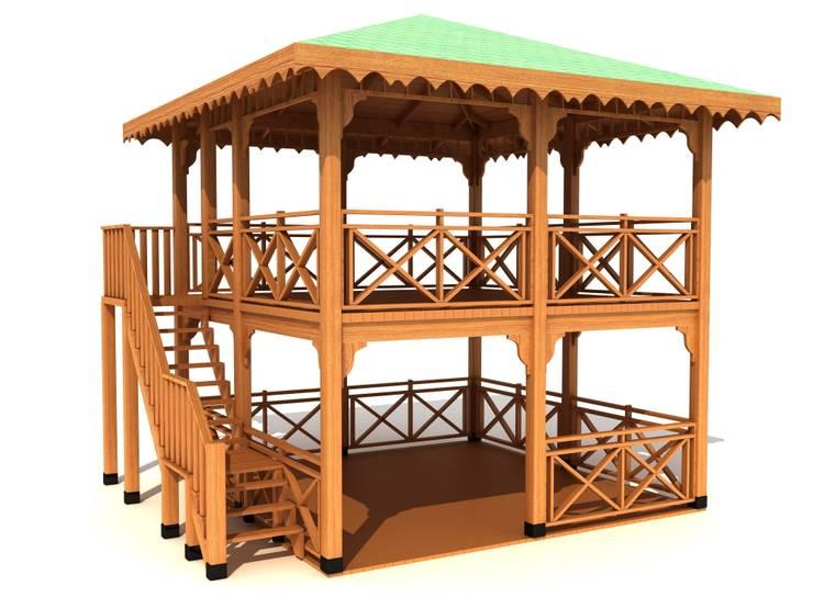 keban çocuk oyun parkları san tic – kamelya:  tarz , Tropikal