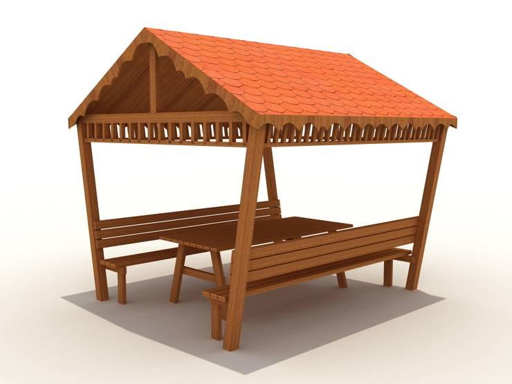 keban çocuk oyun parkları san tic – kamelya:  tarz Ofis Alanları, Kırsal/Country