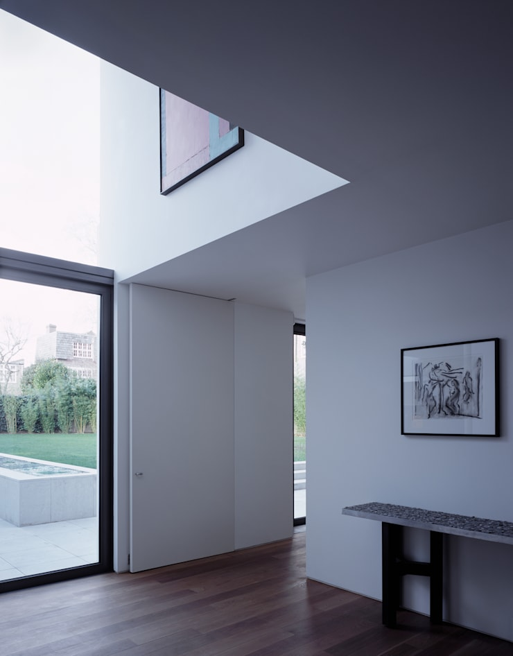 The Long House:  Windows  by Keith Williams Architects, Minimalist