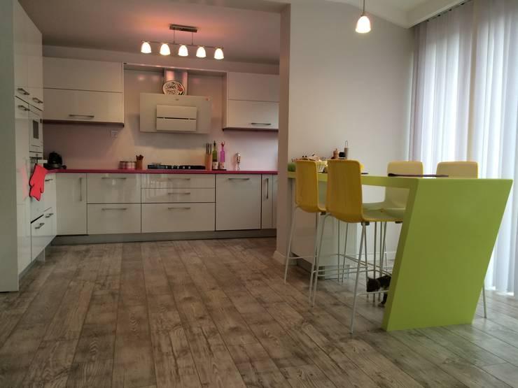 Vizyon Mimarlık ve Dekorasyon – M&K.İ EVİ:  tarz Mutfak