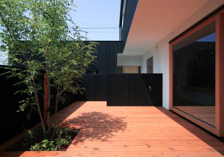 Patios & Decks by スミカデザインオフィス, Modern