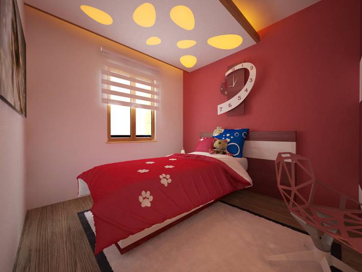 İNDEKSA Mimarlık İç Mimarlık İnşaat Taahüt Ltd.Şti. – İNDEKSA İÇ MİMARLIK: modern tarz Çocuk Odası