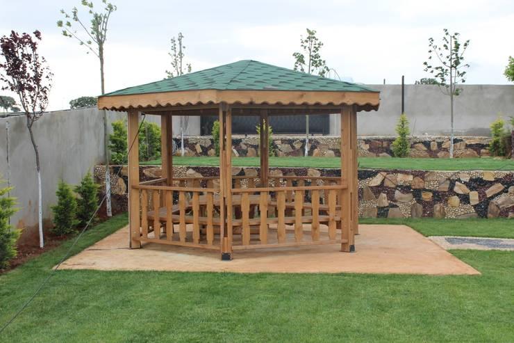 KAYALAR AHŞAP KERESTE ÜRÜNLERİ – KM-125  KAMELYA: akdeniz tarzı tarz Bahçe