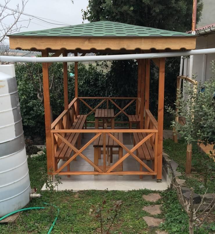 KAYALAR AHŞAP KERESTE ÜRÜNLERİ – KM-126 KAMELYA:  tarz Bahçe
