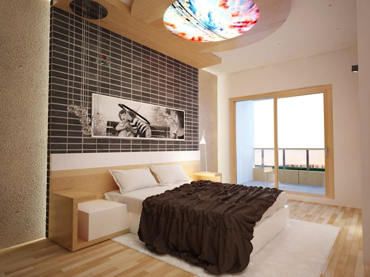 modern  von İNDEKSA Mimarlık İç Mimarlık İnşaat Taahüt Ltd.Şti., Modern