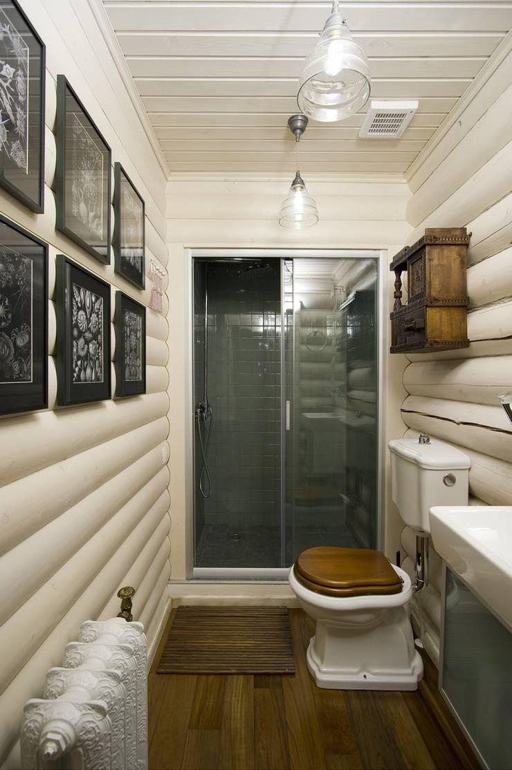 Дача в Осташково: Ванная комната в . Автор – Irina Tatarnikova