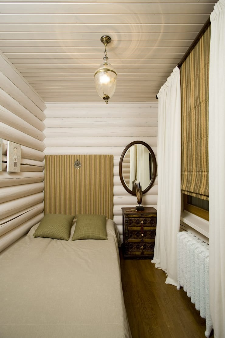 Дача в Осташково: Спальная комната  в . Автор – Irina Tatarnikova