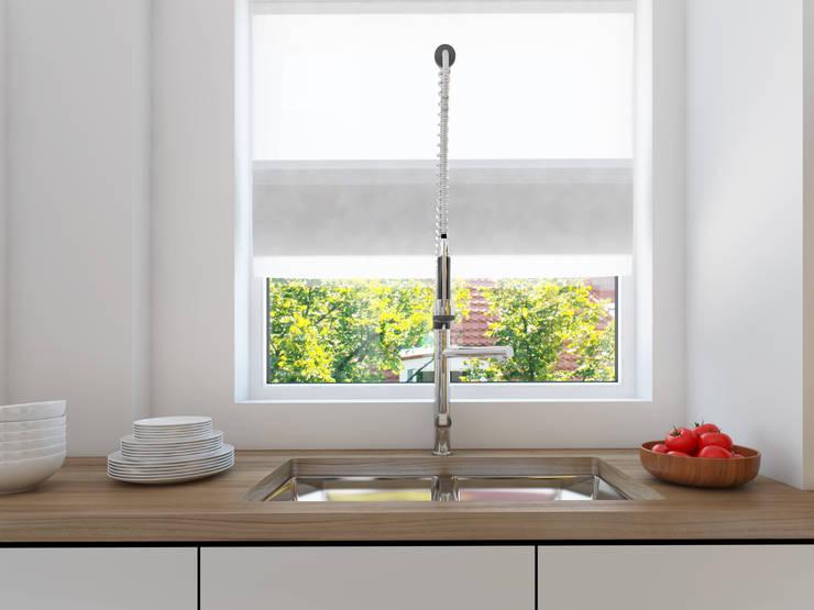 İNDEKSA Mimarlık İç Mimarlık İnşaat Taahüt Ltd.Şti. – İNDEKSA ÖRNEK DAİRE ÇALIŞMASI: modern tarz Mutfak