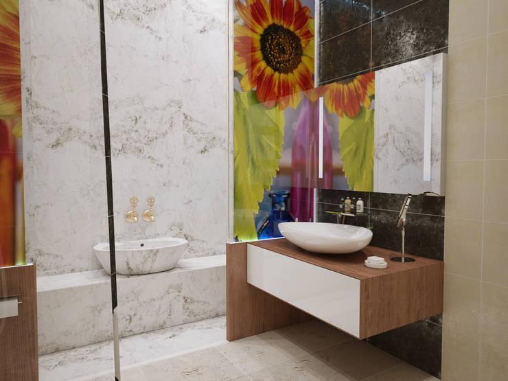 İNDEKSA Mimarlık İç Mimarlık İnşaat Taahüt Ltd.Şti. – İNDEKSA ÖRNEK DAİRE ÇALIŞMASI:  tarz Banyo