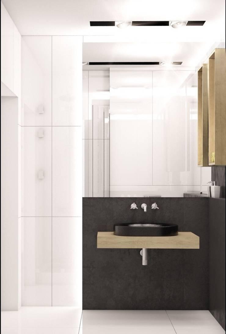 Лофт: Ванные комнаты в . Автор – E_interior