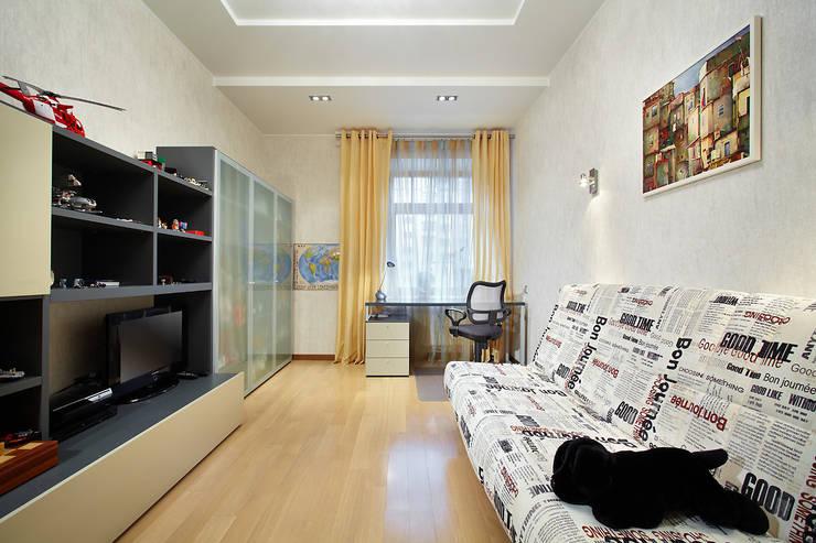 Квартира, Санкт-Петербург, ул.Нахимова: Детские комнаты в . Автор – студия дизайна интерьера 'Sreda Studio'