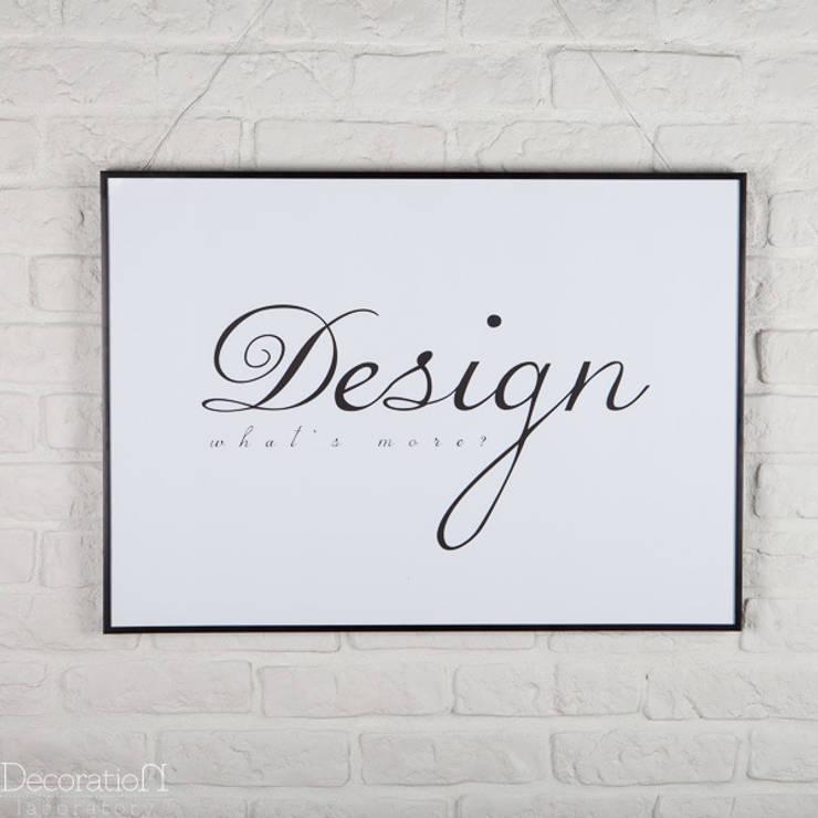 Design, what's else?: styl , w kategorii Ściany i podłogi zaprojektowany przez Decoration Laboratory