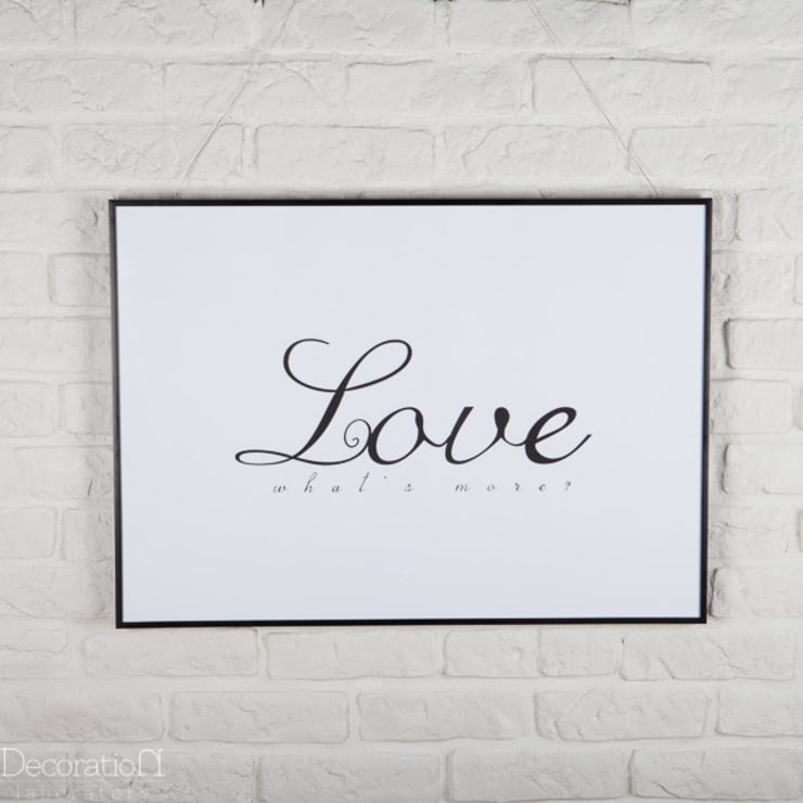Love, what's else?: styl , w kategorii Ściany i podłogi zaprojektowany przez Decoration Laboratory