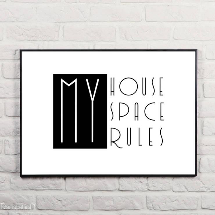 My space, my house, my rules: styl , w kategorii Ściany i podłogi zaprojektowany przez Decoration Laboratory
