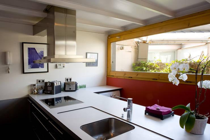 Cozinhas industriais por Beriot, Bernardini arquitectos