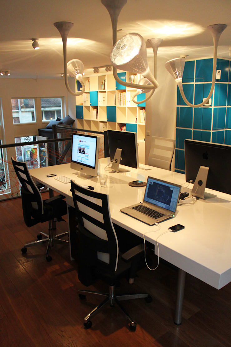 Dutch interior office design:  Kantoor- & winkelruimten door Diego Alonso designs, Modern