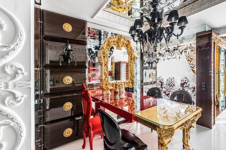 Интерьер квартиры в стиле Эклектики: Кухни в . Автор – Belimov-Gushchin Andrey
