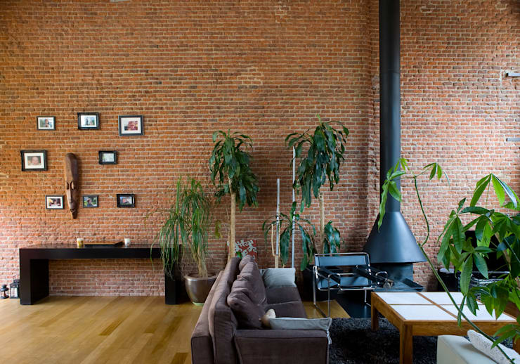 LOFT ATOCHA. Madrid: Salones de estilo  de Beriot, Bernardini arquitectos