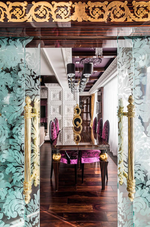 Интерьер квартиры в стиле Эклектики: Столовые комнаты в . Автор – Belimov-Gushchin Andrey