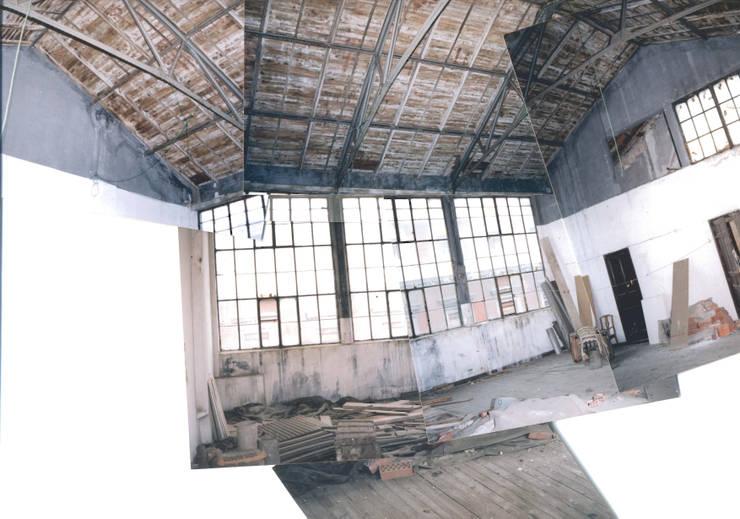 Oficinas de estilo industrial por Beriot, Bernardini arquitectos