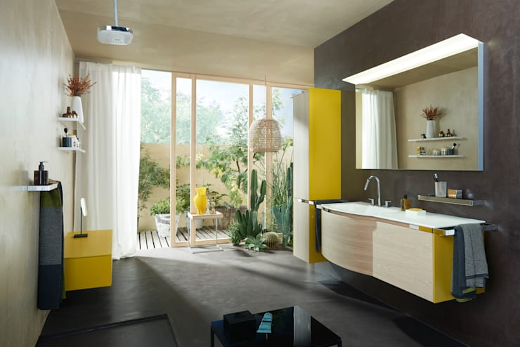Burgbad - Yso: Salle de bain de style  par Espace Aubade