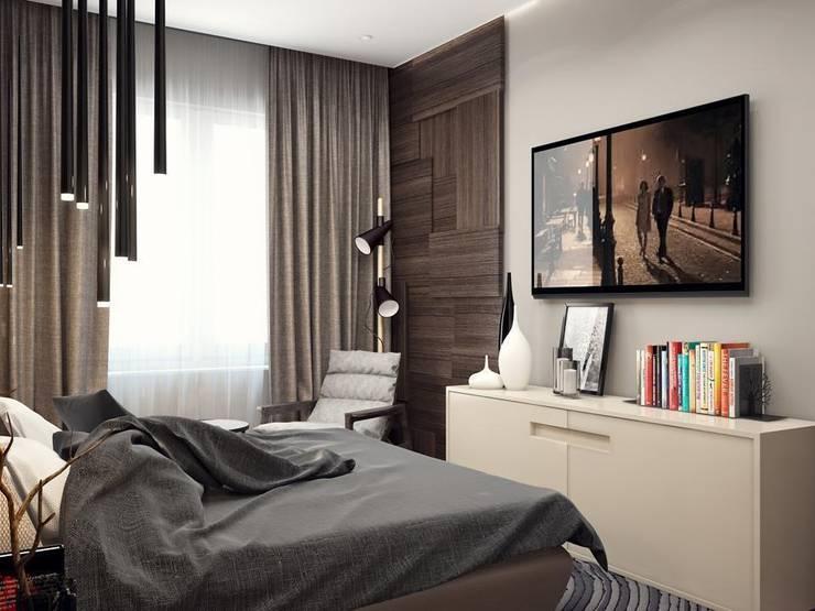 Стильная спальня: Спальни в . Автор – VITTA-GROUP