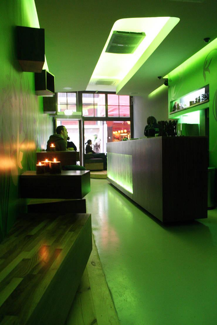 Coffee shop De Kroon:  Bars & clubs door Diego Alonso designs