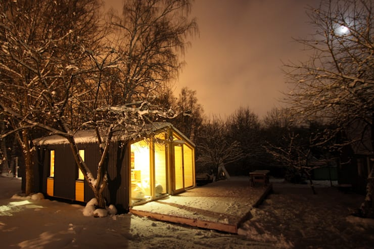 Casas de estilo  por BIO - architectural Bureau of Ivan Ovchinnikov
