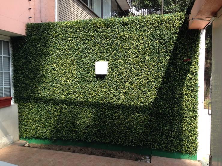 estacionamiento : Casas de estilo  por Armatoste studio